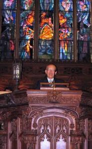 Rev. Sakai Fairhaven altar
