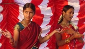 Bharata natyam for IARf Day 2012 at Hindupur