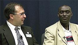 Eric Cherry and Fulgence Ndagijimana